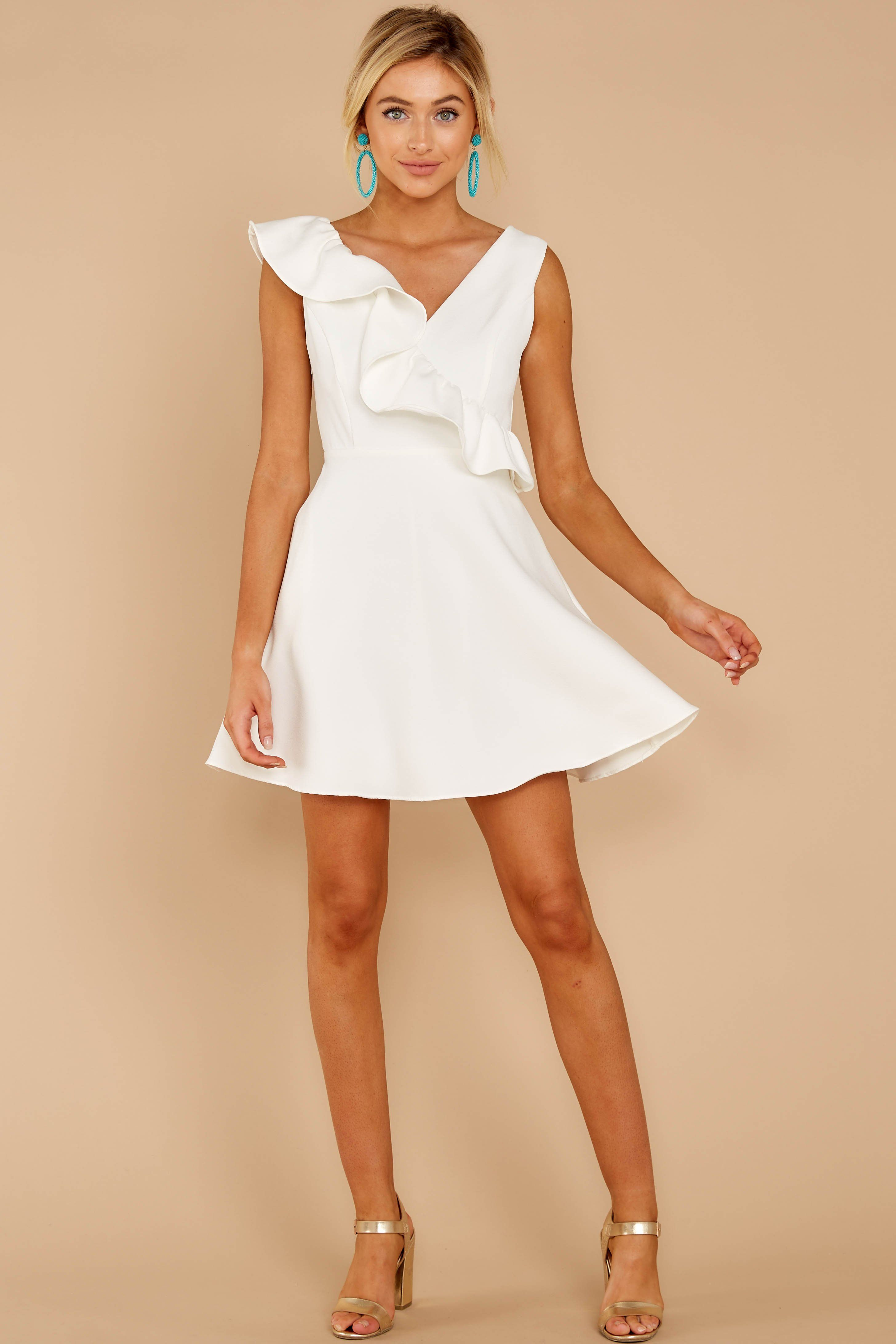 Chic Sleeveless White Dress Short Ruffled Dress Dress 46 00 Red Dress Shop Red Dress Red Dress Sorority Dresses [ 4369 x 2913 Pixel ]