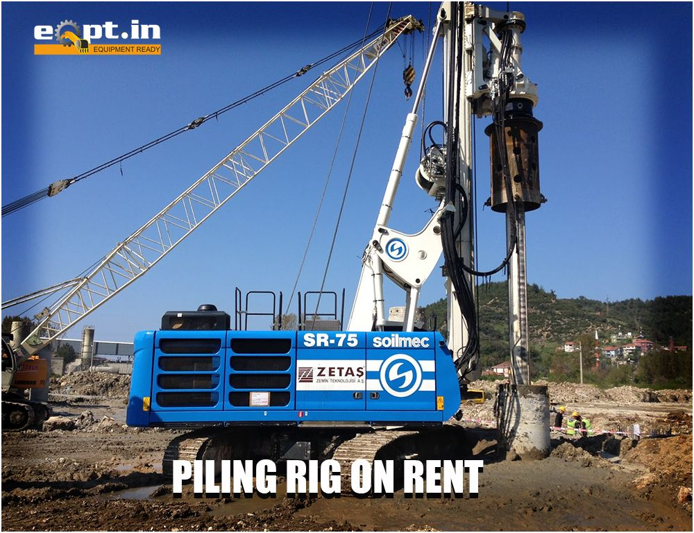 Eqpt in construction equipment Rental Service Provider in