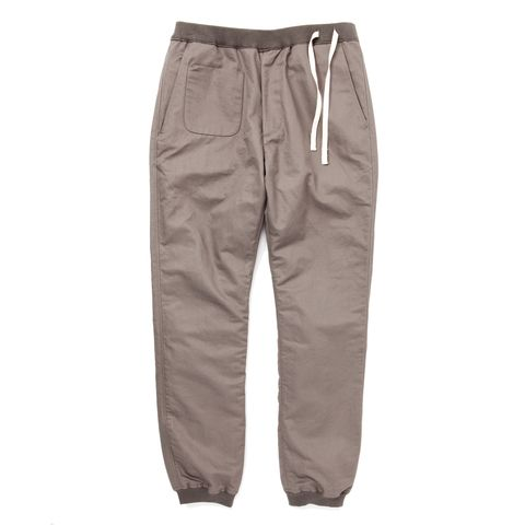 EASY RIB PANTS | Heather Grey Wall ONLINE store