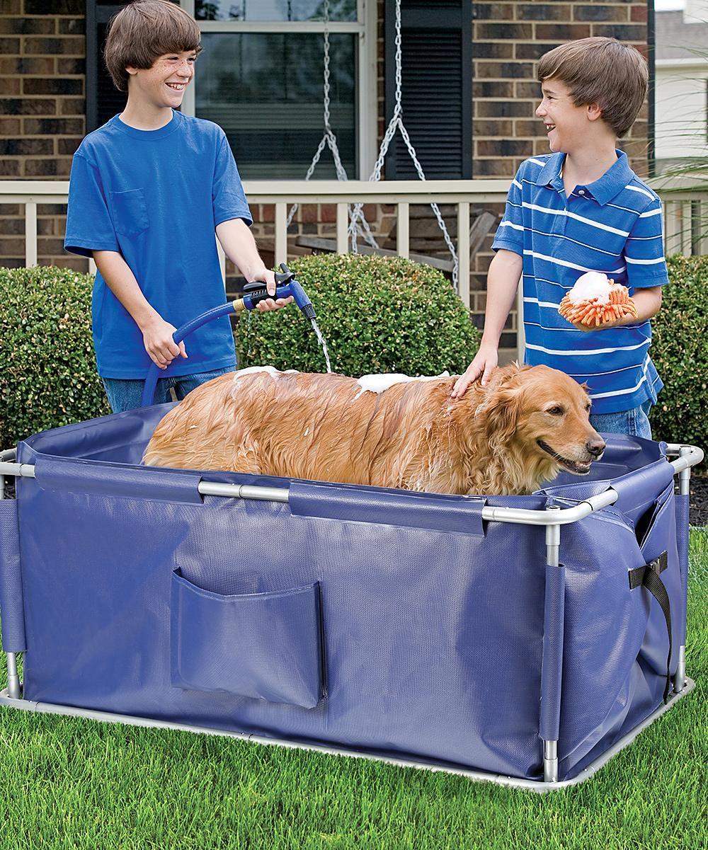 Etna Portable Pet Bath Dog Bath Tub Dog Grooming Supplies Dog