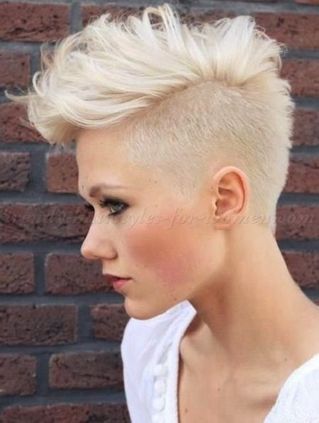 Pin by Debra Mich on Pixie / Mohawk / Undercuts in 2019