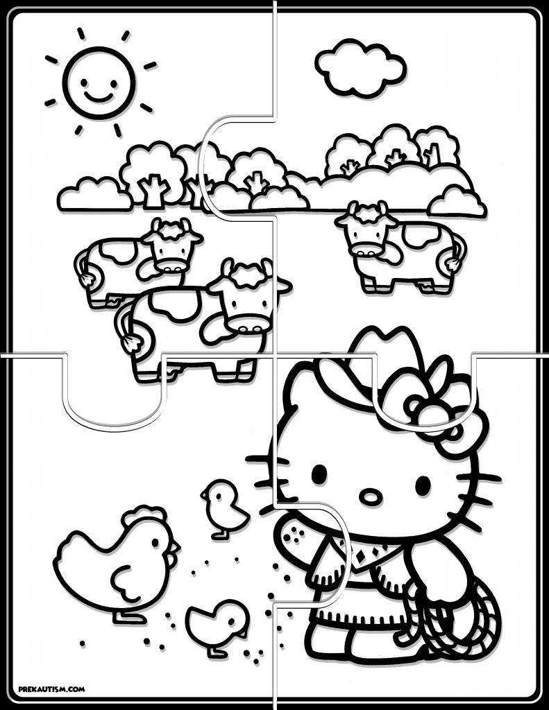 Bonito Hola Gatito Animadora Para Colorear Composición - Dibujos ...