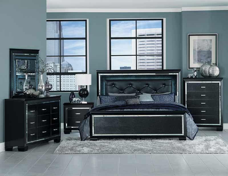 Homelegance Allura 5 Piece California King Bedroom Set 1916kbk 1ck 5 Bedroom Set Bedroom Sets Queen Wood Bedroom Sets