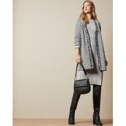 Photo of Cardigan In Oversized-passform Mit Animal-print Ted Baker
