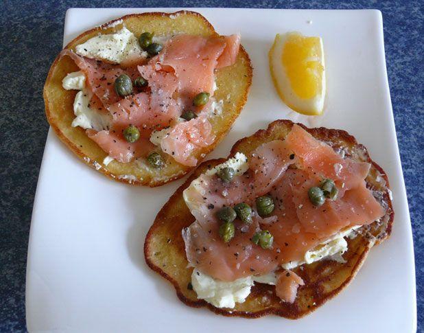 Recipe: Salmon snacks for the gluten-free
