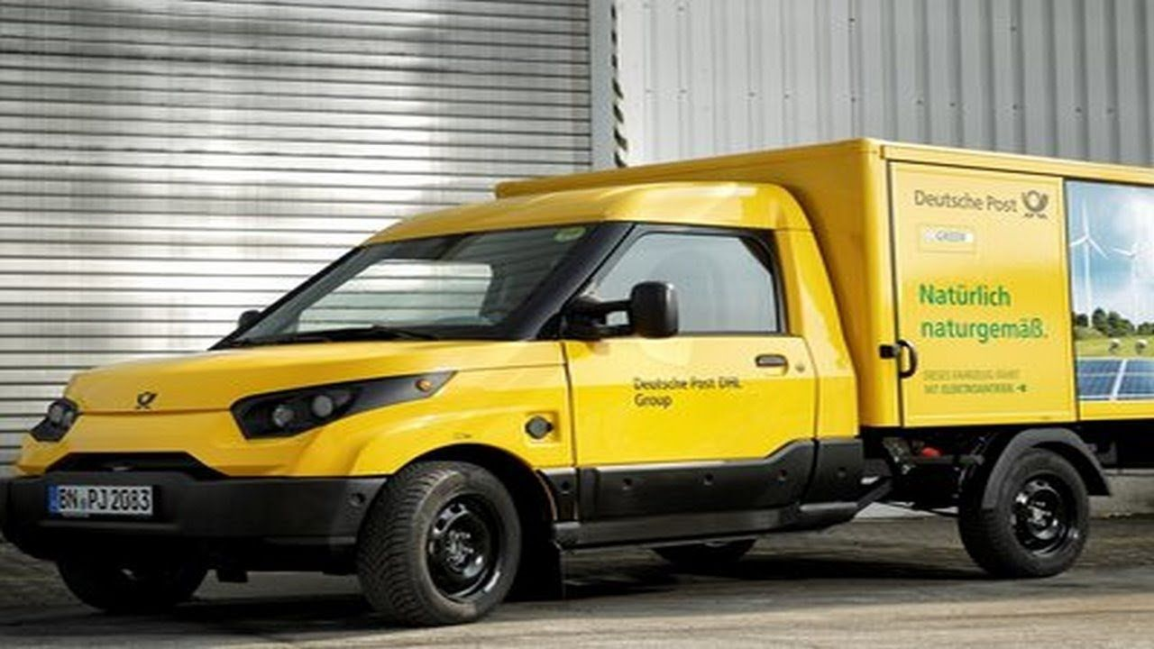 Deutsche Post is going to produce a new 100 electric van