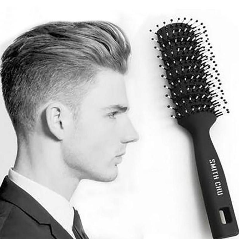 1pc Salon Hair Styling Brush Comb Hair Styling Men Antistatic Hair Style Tool Resin Handle Y1 5 Hair Brush Hair Massage Mens Hairstyles