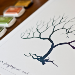 Download a FREE copy of the Style Unveiled exclusive Wedding Fingerprint Tree for your wedding!