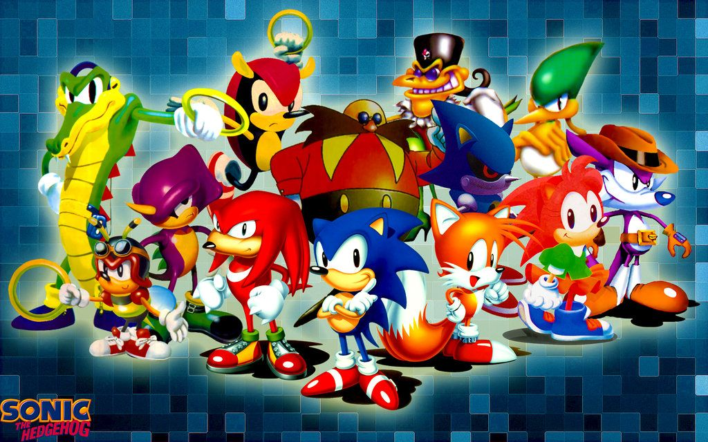 Classic Sonic The Hedgehog And Friends Wallpaper By Sonicthehedgehogbg Deviantart Com On Deviantart Sonic The Hedgehog Sonic Erizos