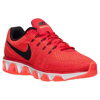 half off 4b20c d3f4a Nike Air Max Tailwind 8 Mens 805941-600 Red Hyper Orange Running Shoes Size  13