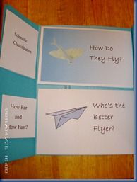 Free Flying Fish Mini unit, with printable mini-books, links, and even a science experiment.