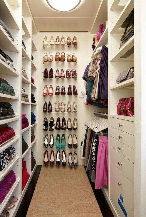 Garderoba Polki Na Buty Shoe Organization Closet Closet Designs Closet Bedroom