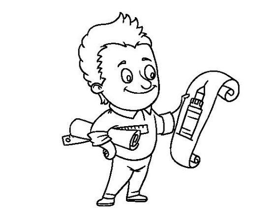 smart kid coloring pages - photo#49