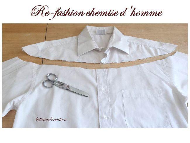 Idée Couture : Que faire avec une chemise d'homme ? - #avec #chemise #couture #dhomme #faire #idée #...