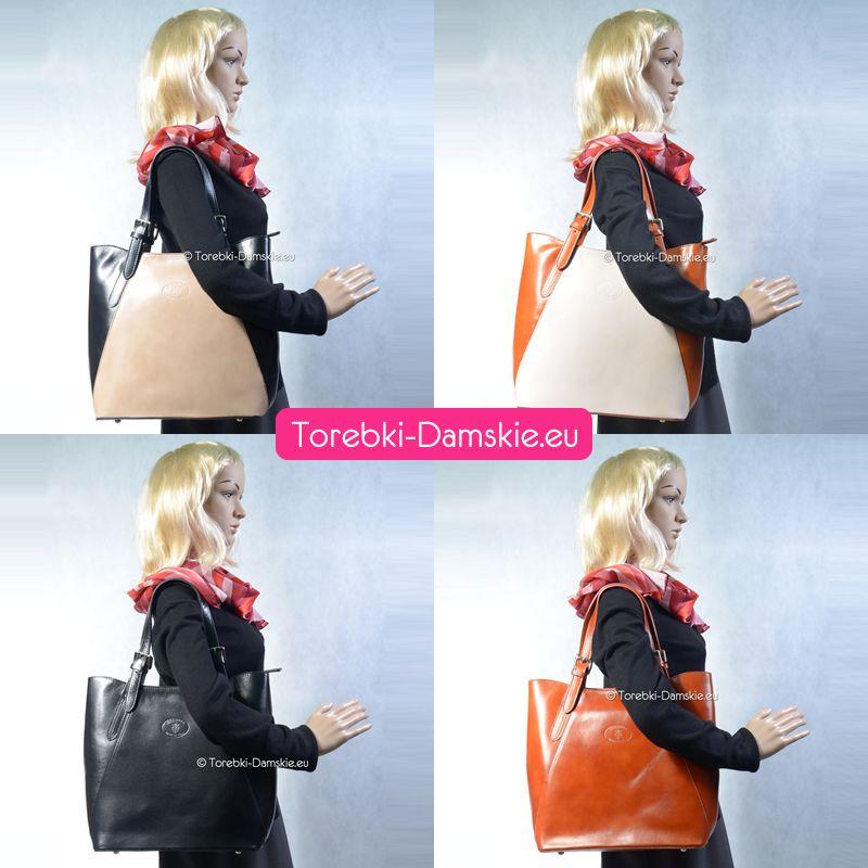 a6d685c7a686f Teraz torebki skórzane oferowane w naszym sklepie internetowym prezentujemy  również w nowej formie. #torebki #moda