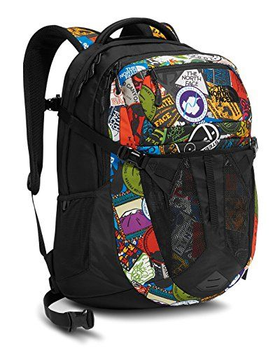 cfc940adf344 The North Face Recon Backpack TNF Red Sticker Bomb Print    You can find  out more details at the link of the image.Note It is affiliate link to  Amazon.