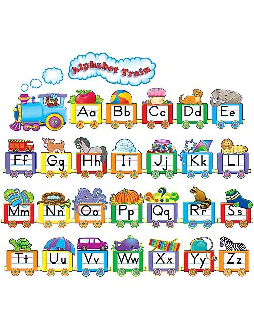 Alphabet Train Bulletin Board Display Set (TCR4421) « Products   Teacher Created Resources