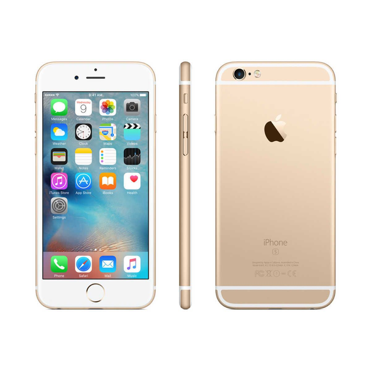 New Apple Iphone 6s 32gb Gold Factory Unlocked Galaxy Iphone Iphone 6s Rose Gold Apple Iphone 6s Plus Iphone