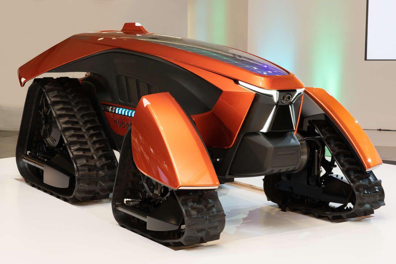 Kubota Prasentiert Konzept Traktor Und Kommunaltrecker Mit E Antrieb In 2020 Elektrisch Traktor Trecker