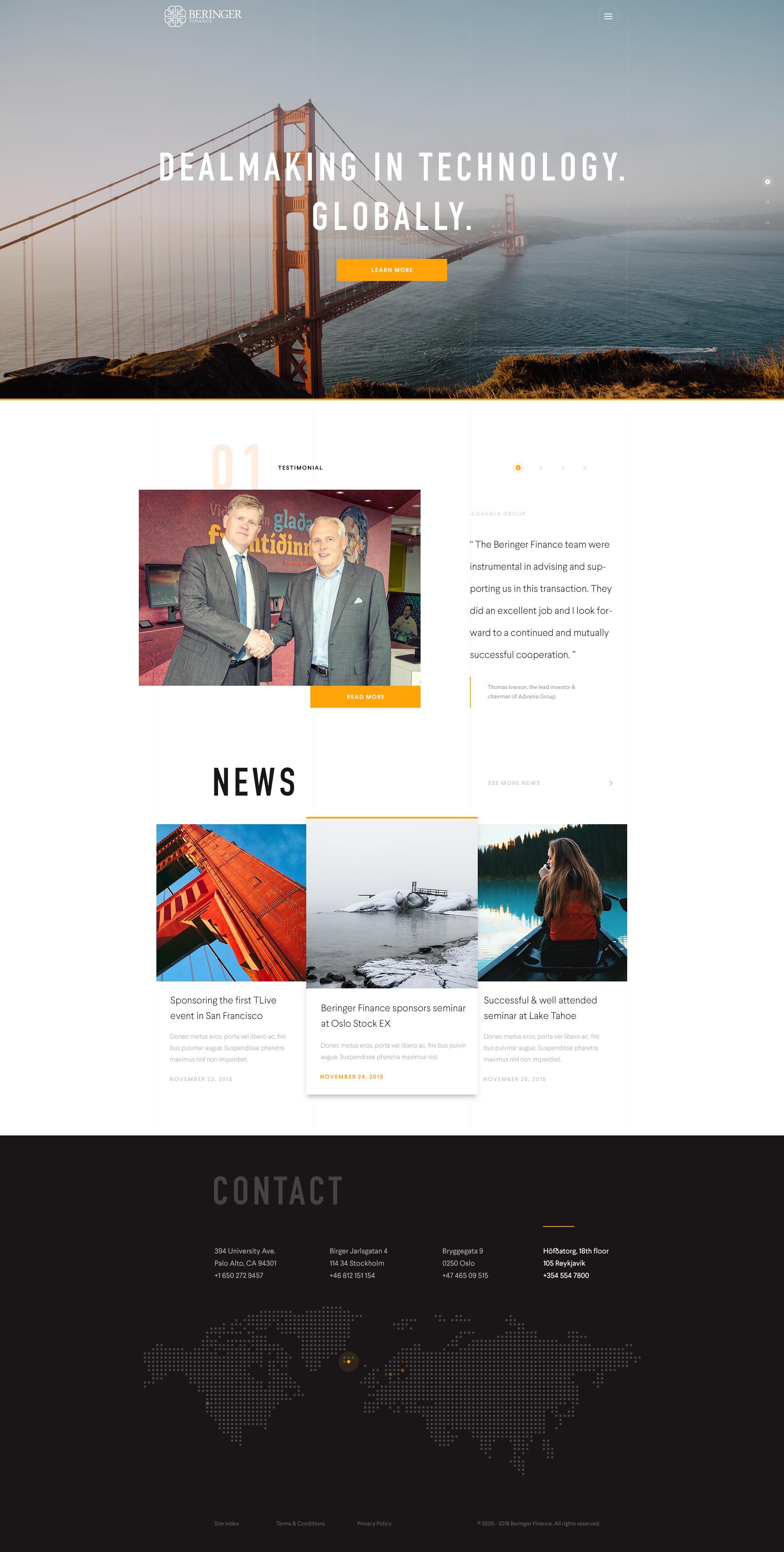 Beringer Design Home With Images Web Design Design Web Design Inspiration