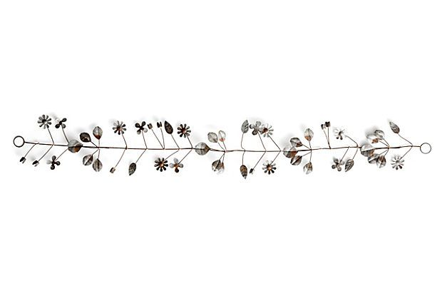 "40"" Desna Garland, Silver on OneKingsLane.com"