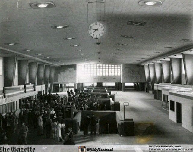 Montreal Central Station opening 1943 !