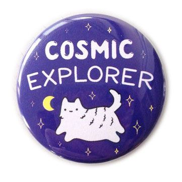 Cats in Space - Sparkle Collective badge