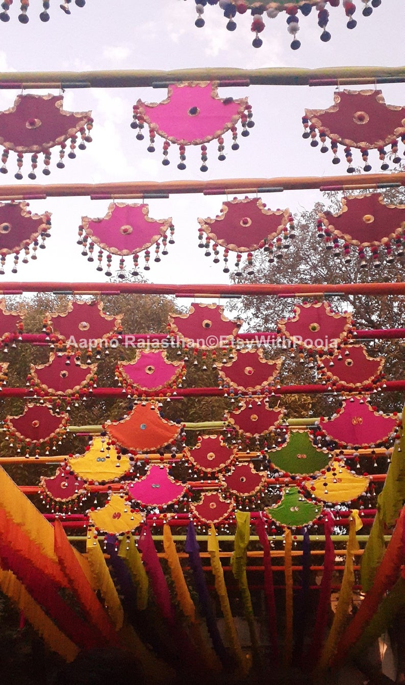 Pin By Apnorajasthan On Pelli Kuthuru In 2020 Fan Decoration Wholesale Wedding Decor Handmade Decorations