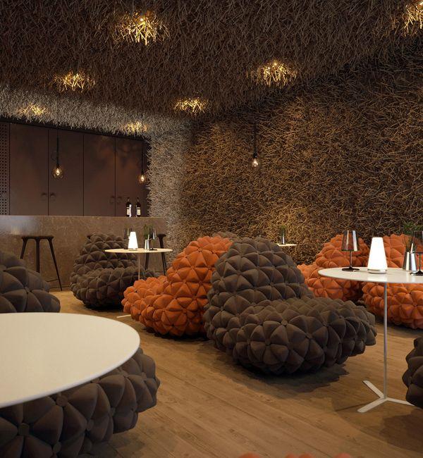 Twister Restaurant Unique Interior Design Home Interior