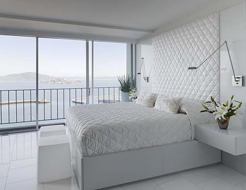 Moderne witte slaapkamer veel glas google zoeken nieuwe woning