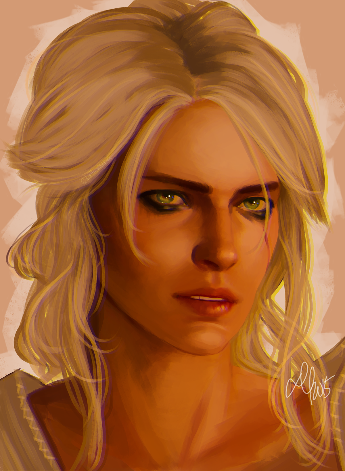 kingsiha: my chil d…. i love ciri so much lmao I AM WEAK!!! commission info + support me on patreon !