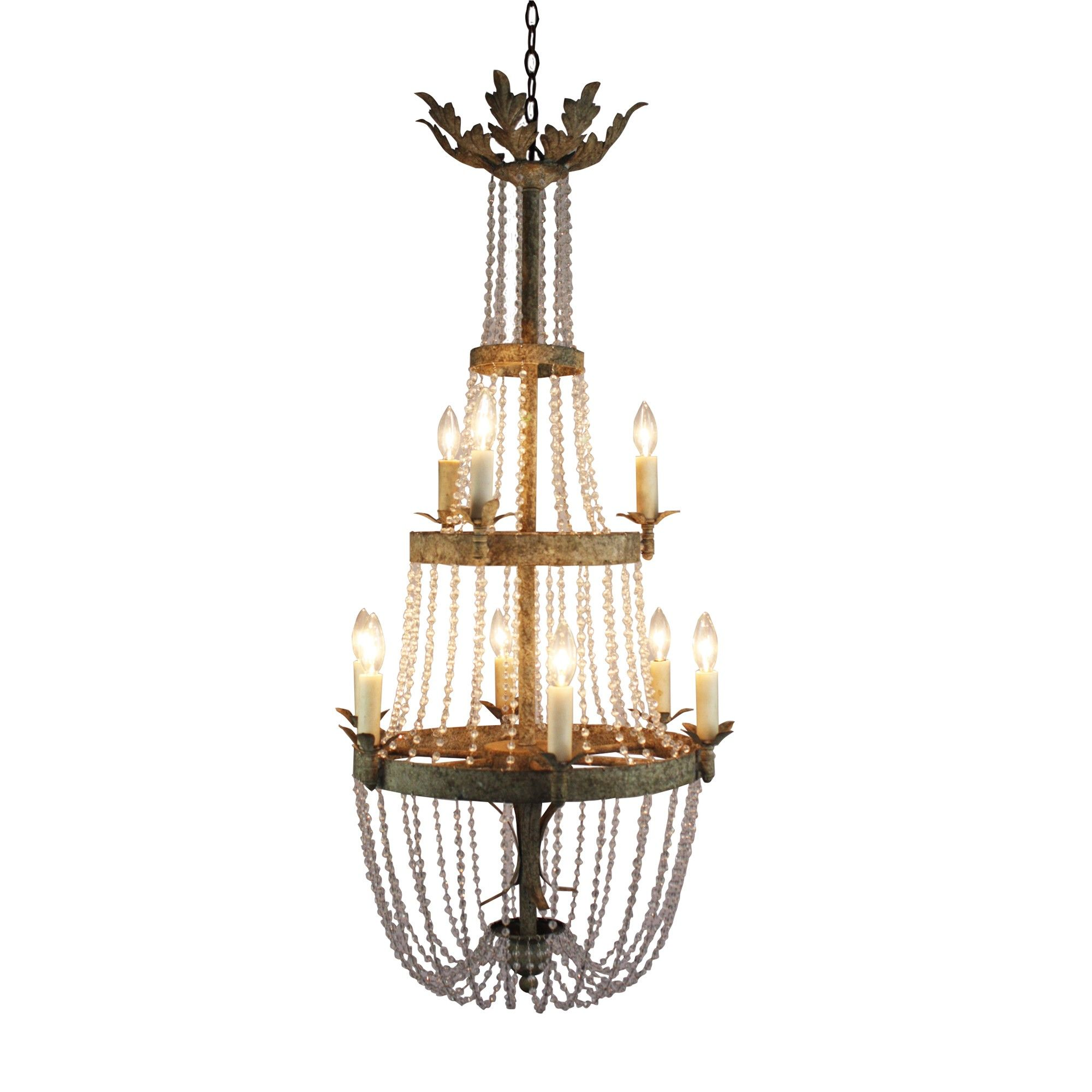 Veronica chandelier by aidan gray all chandeliers come with veronica chandelier by aidan gray all chandeliers come with standard 7 ft chain arubaitofo Image collections