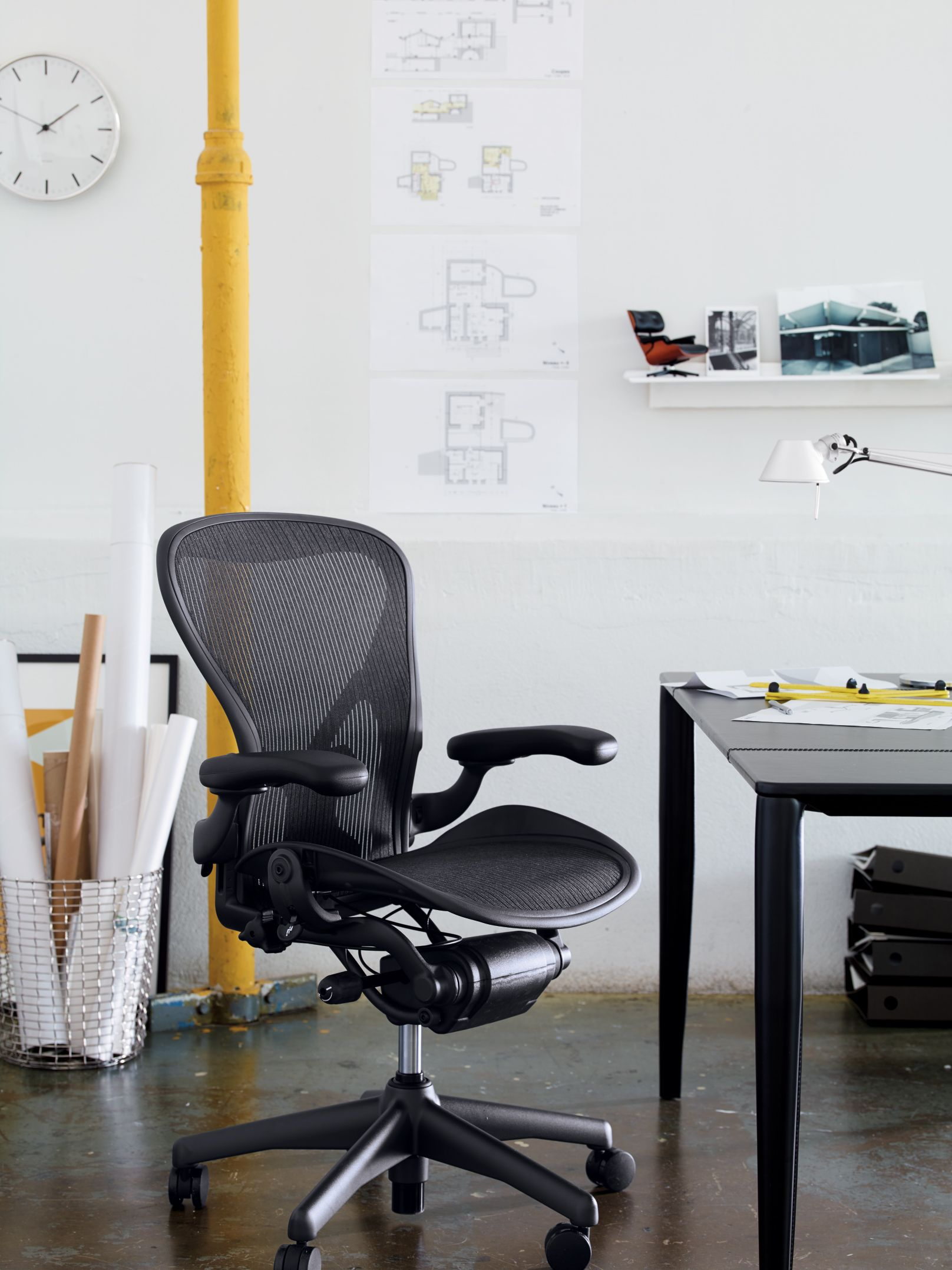 dwr office chair. Aeron® Chair PostureFit® Designed By Don Chadwick And Bill Stumpf For Herman Miller® Dwr Office R