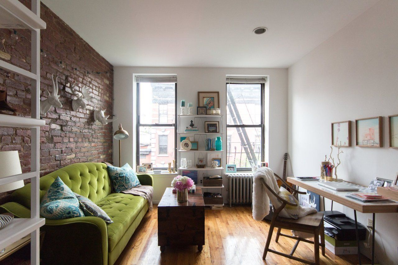 Apartment Therapy Small Es Living Room Amanda S California Inspired New York