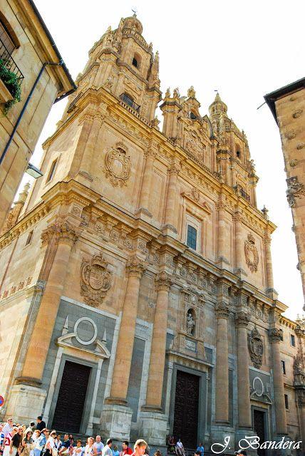 Las Fotografías de Bandera: La Clerecía de Salamanca