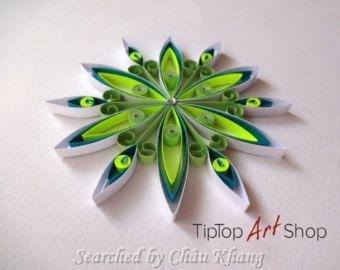 Tiptop art shop- Quilled Snowflakes (Searched by Châu Khang ...
