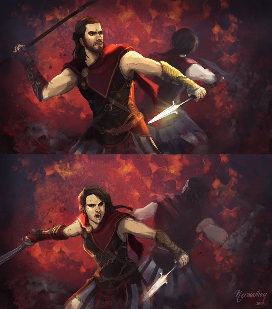 Alexios And Kassandra P With Images Assassins Creed Odyssey