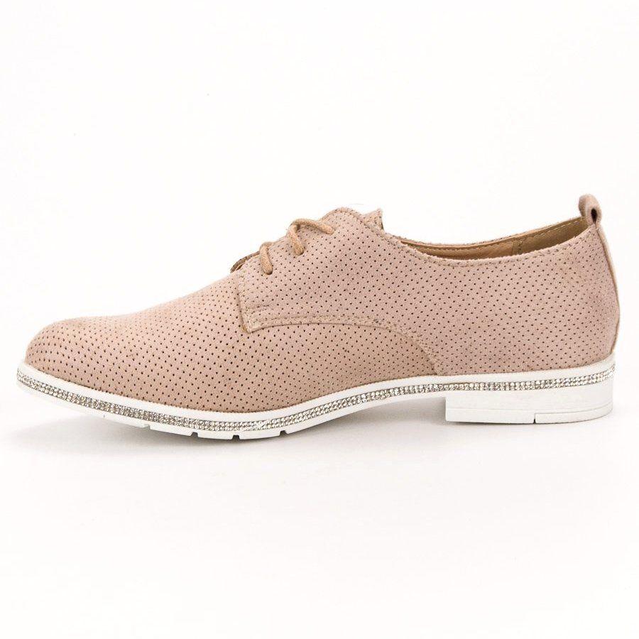 Marquiz Polbuty Z Cyrkoniami Rozowe Dress Shoes Men Cole Haan Zerogrand Oxford Oxford Shoes