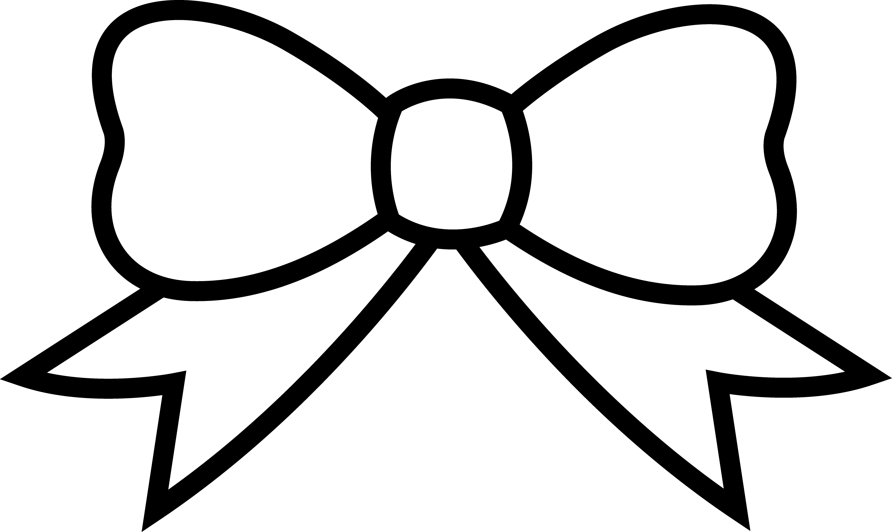 Bow Drawing Yahoo Search Results Bow Drawing Bow Clipart Coloring Pages