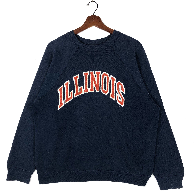 Vintage 80s University Of Illinois Sweatshirt Vintage Etsy Vintage Nike Sweatshirt Sweatshirts Vintage Sweatshirt [ 3000 x 3000 Pixel ]