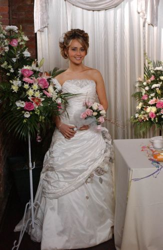 Coronation Street Wedding. Maria.