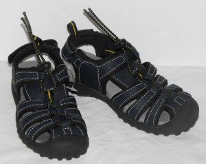 #Osh-Kosh #Boys Navy Toggle Fron #Sandals Size 9 NWOT #baby #summer #Shoes #teamsellit