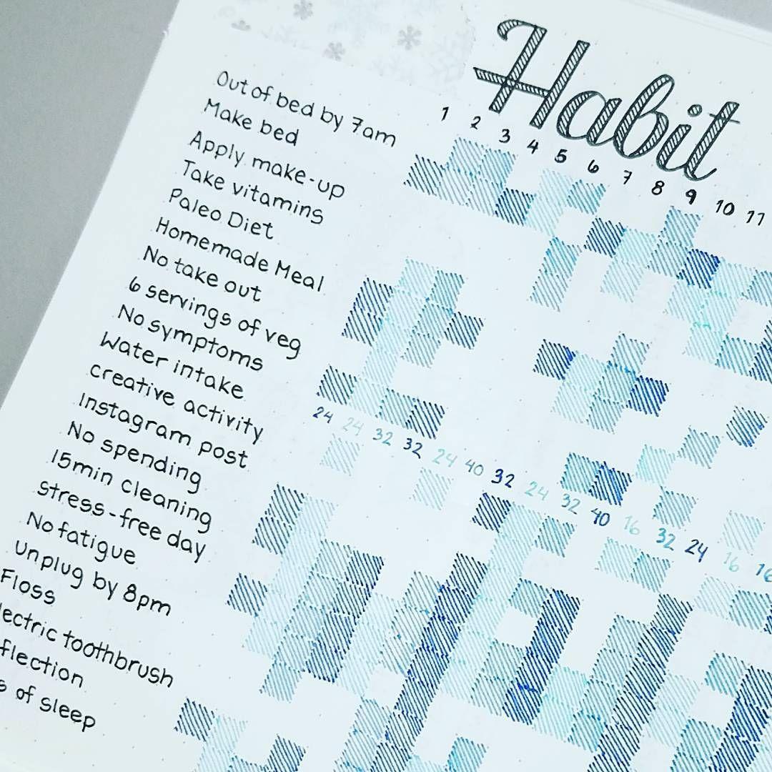 Bullet Journal Tracker   My Planners, Ideas & Washi   Pinterest ...