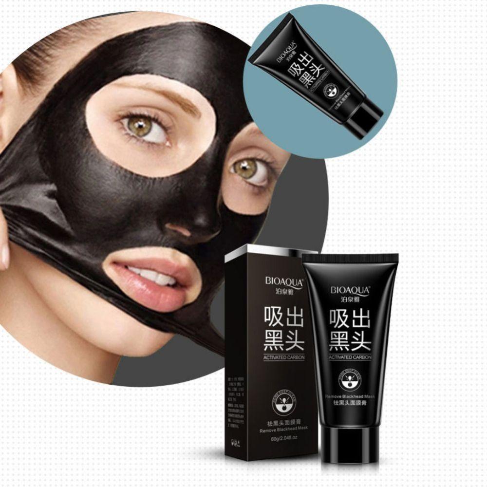 깊은 청소 피부 여드름 제거 여드름 치료 검은 색 진흙 얼굴 마스크