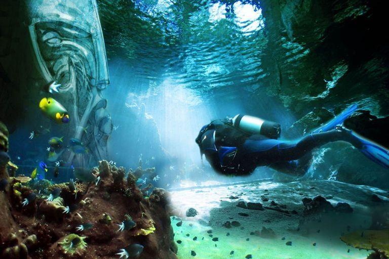 """""""Perla de Dubai"""" El Parque Temático Bajo Agua Más Grande Del Mundo Abrirá En Dubái"""