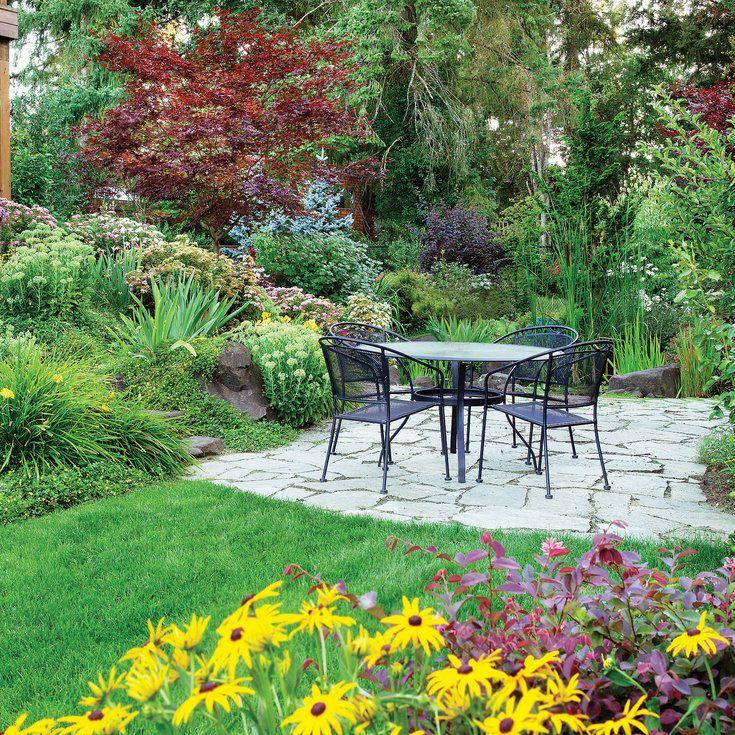 Sloping Garden Ideas And Optimal Solutions For Landscape: Sloped Garden, Large Backyard