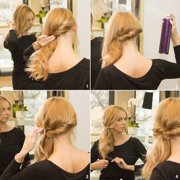 Bildergebnis Für Anleitung Seitliche Frisuren Einfach моя