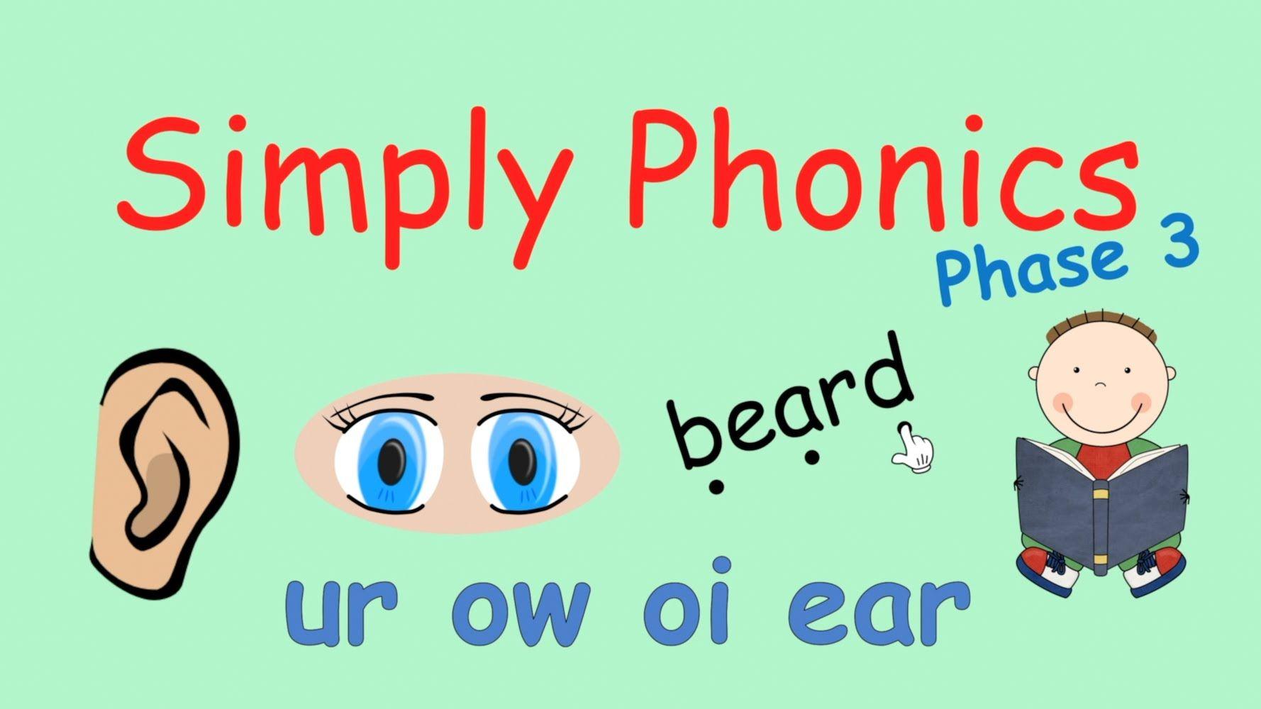 Simply Phonics Phase 3 Phonics