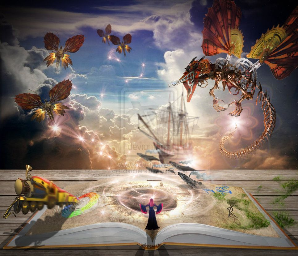 book coming to life - Google Search | Reading | Pinterest | Imagination, Hd desktop and Wallpaper