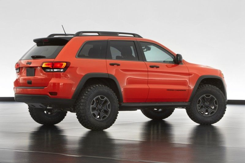 Jeep Easter Safari 2013 Concepts Revealed Jeep Grand Cherokee Jeep Grand Grand Cherokee Trailhawk